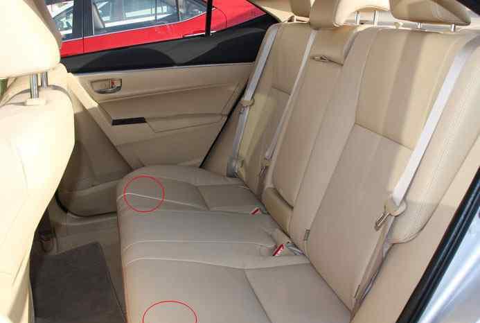 靠背 丰田卡罗拉后排靠背拆装,卡罗拉后座靠背怎么拆卸