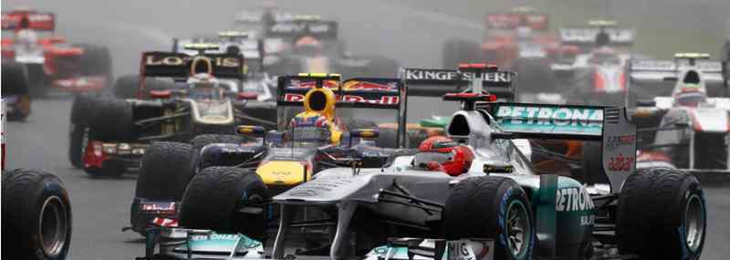 f1赛车最高时速 F1赛车最高时速能到多少?F1解除限制能跑多快