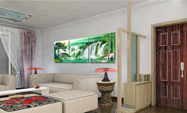 客厅挂什么画 客厅挂什么画风水好 客厅挂画的讲究和禁忌