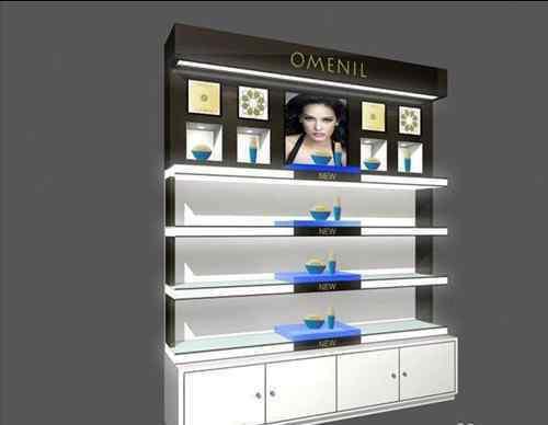 化妆品展示架 化妆品展示柜图片 化妆品展示柜价格大全