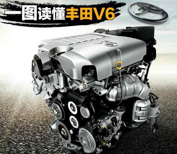 丰田发动机 丰田V6发动机大全