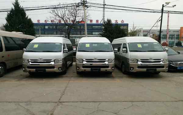 丰田海狮7座价格 丰田海狮面包车报价 海狮7座8座9座现车