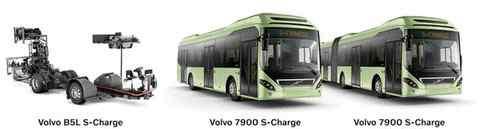 公车系列小说全集h 沃尔沃升级自动充电混动公交车 车速提至50 kmh