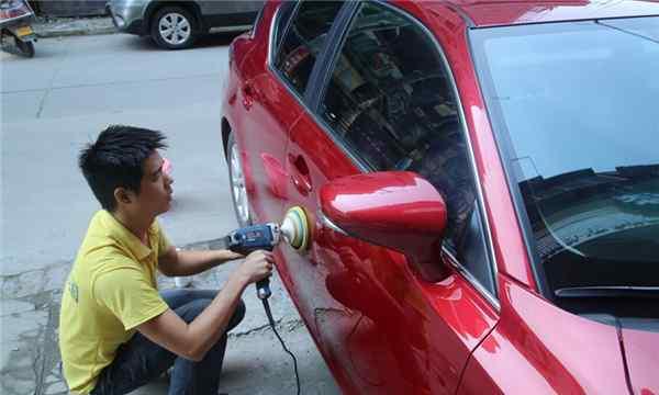 车漆快修 快速补漆能局部补漆吗?看了这篇文章就知道了!