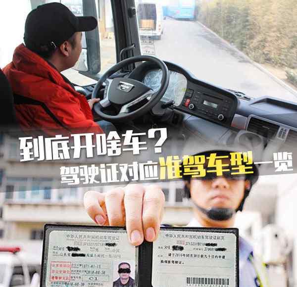 b1驾驶证能开什么车 到底开啥车? 驾驶证对应的准驾车型一览