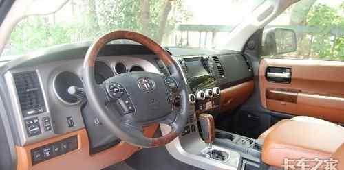 丰田红杉皮卡 丰田红杉皮卡极富冲击力的皮卡车型