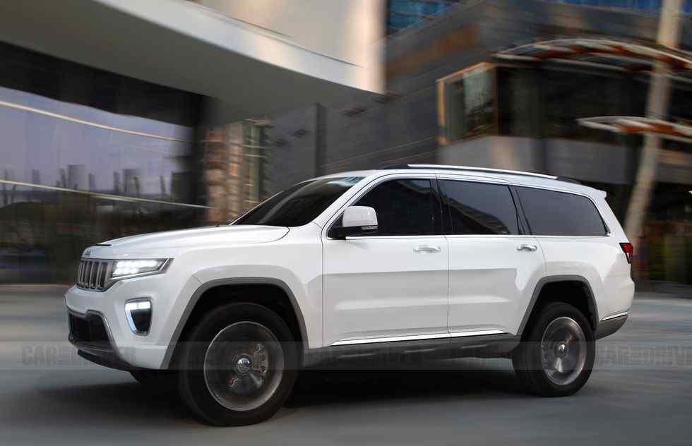 道奇公羊suv Jeep全尺寸SUV最早2020年底亮相 与道奇公羊同平台